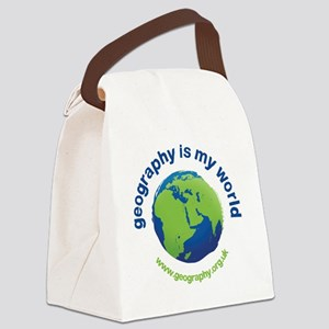GeographyIsMyWorld Canvas Lunch Bag