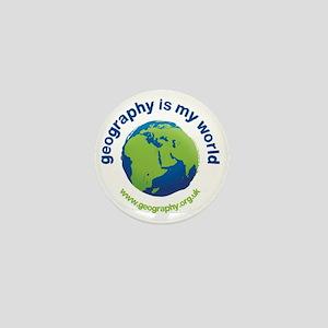 GeographyIsMyWorld Mini Button