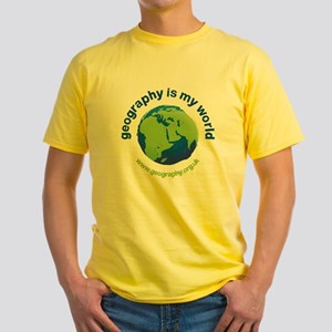 GeographyIsMyWorld Yellow T-Shirt