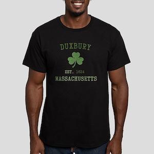duxbury-massachusetts- Men's Fitted T-Shirt (dark)