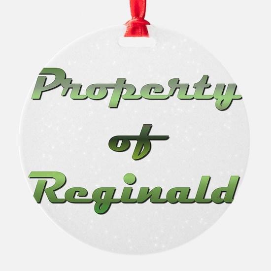 Property Of Reginald Male Ornament