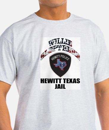 Hewitt Texas Jail Ash Grey T-Shirt