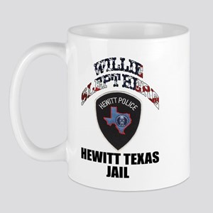 Hewitt Texas Jail Mug