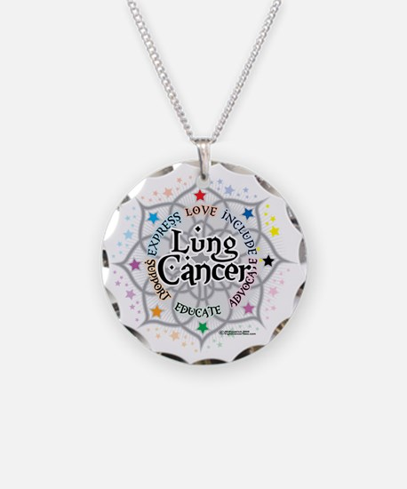 Lung-Cancer-Lotus Necklace