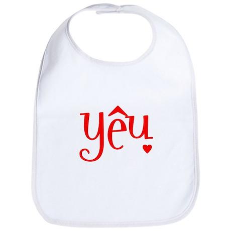 """""""Love"""" in Vietnamese Bib"""