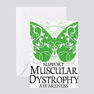Muscular-Dystrophy-Butterfly Greeting Card
