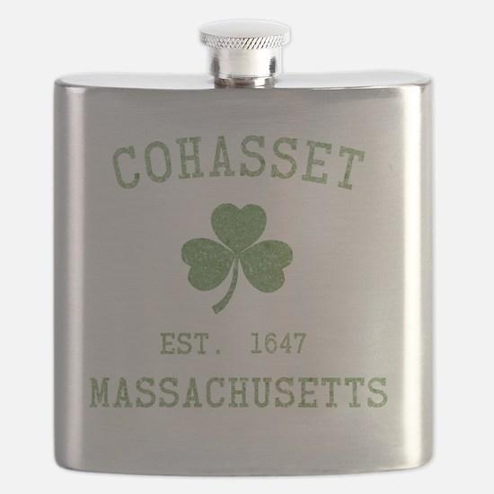 cohasset-massachusetts-irish Flask