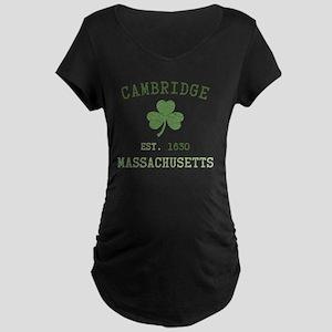 cambridge-massachusetts Maternity Dark T-Shirt