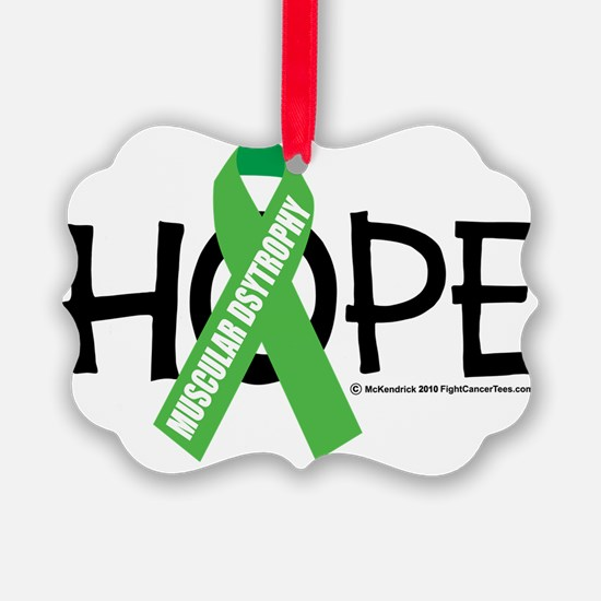Muscular-Dystrophy-Hope Ornament