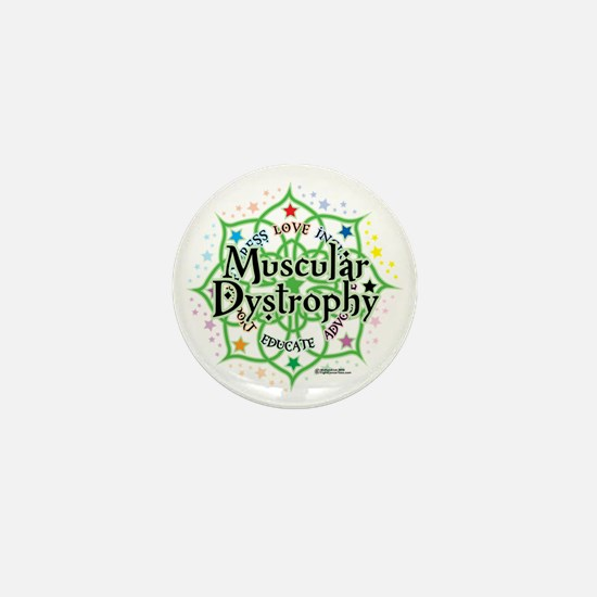 Muscular-Dystrophy--Lotus Mini Button