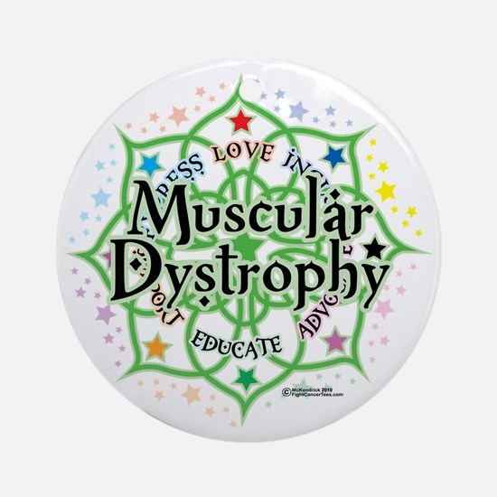 Muscular-Dystrophy--Lotus Round Ornament
