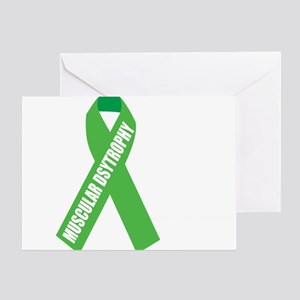 Muscular-Dystrophy-Hope-blk Greeting Card