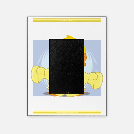 Knock-Out-Spina-Bifida-blk Picture Frame