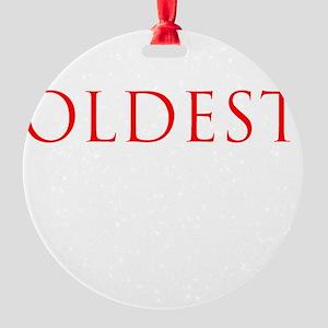 1 Round Ornament