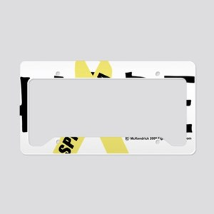 Spina-Bifida-Hope License Plate Holder