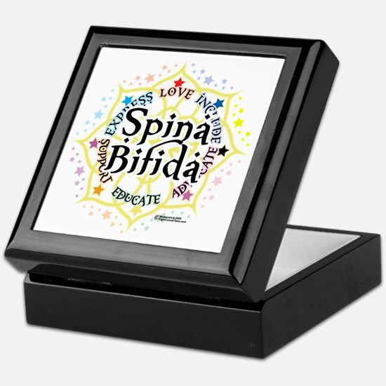 Spina-Bifida-Lotus Keepsake Box