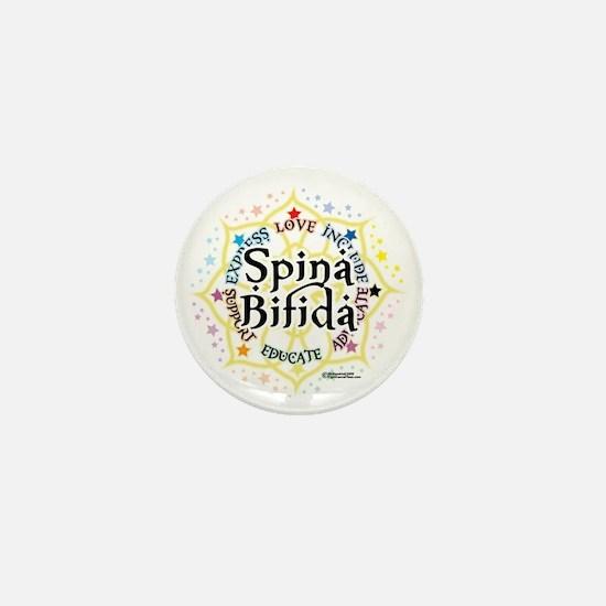 Spina-Bifida-Lotus Mini Button