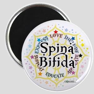 Spina-Bifida-Lotus Magnet