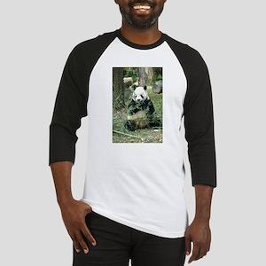 Panda Eating Baseball Jersey