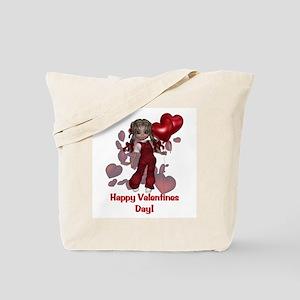 Happy Valentines Day Tote Bag