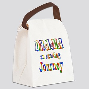 2-DRAMA Canvas Lunch Bag