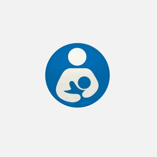 National Breastfeeding Symbol Mini Button