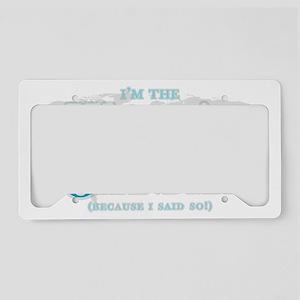 WorldsGreatest_Grandma License Plate Holder