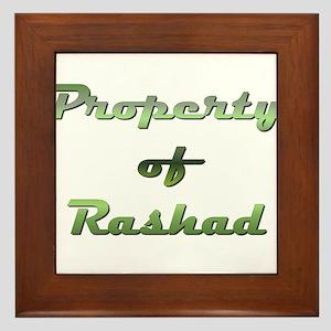 Property Of Rashad Male Framed Tile