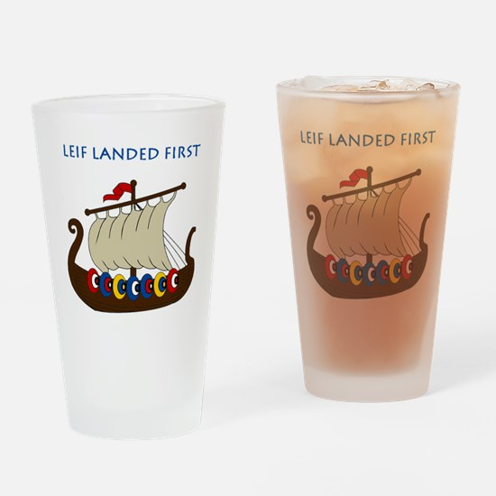 Leif2.GIF Drinking Glass