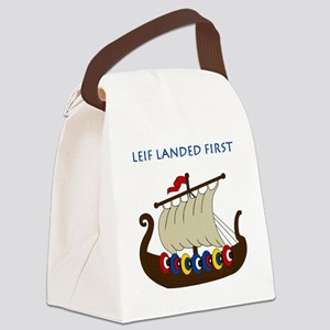 Leif2 Canvas Lunch Bag