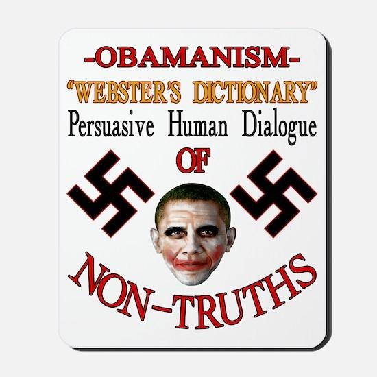 Obamanism Mousepad