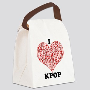 ilovekpop Canvas Lunch Bag