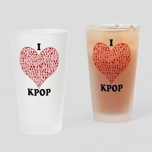 ilovekpop Drinking Glass