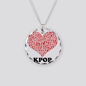ilovekpop Necklace Circle Charm