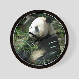 Panda Profile Wall Clock