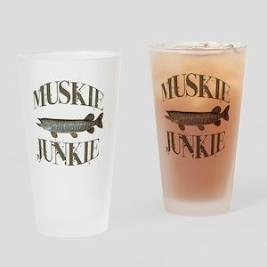 muskiejunkie Drinking Glass