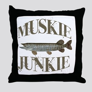 muskiejunkie Throw Pillow