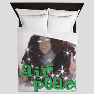 hair peace2 Queen Duvet