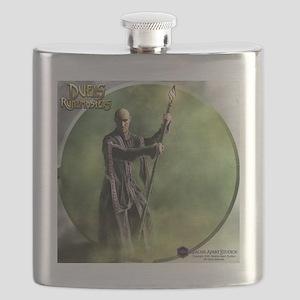 Human Wizard (male) Shirt Flask