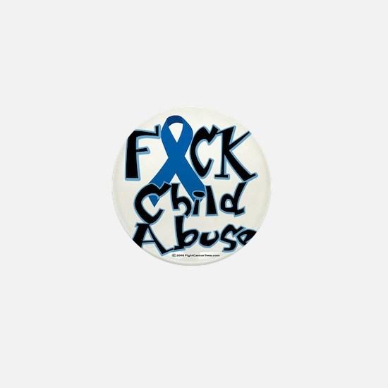 Fuck-Child-Abuse Mini Button