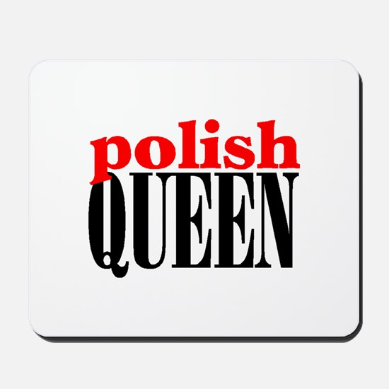 POLISH QUEEN Mousepad