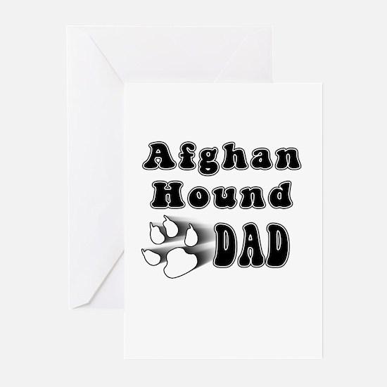 afghan hound dad Greeting Cards (Pk of 10)