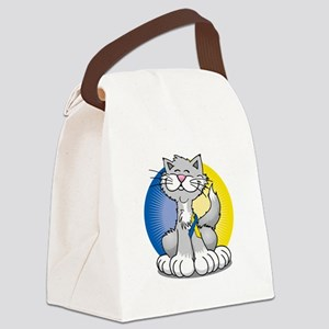 Paws-for--Down-Syndrome-Cat-blk Canvas Lunch Bag
