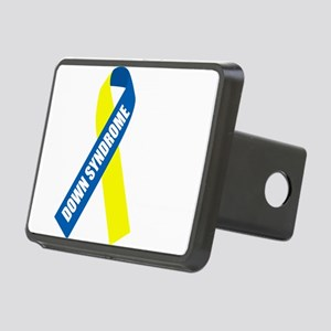 Down-Syndrome-Hope-blk Rectangular Hitch Cover