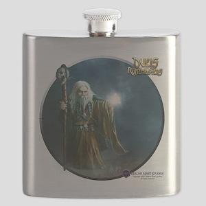 Dwarven Wizard (male) Shirt Flask