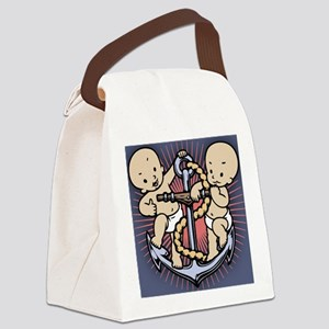 anchor-babies-OV Canvas Lunch Bag