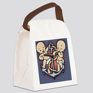 anchor-babies-BUT Canvas Lunch Bag