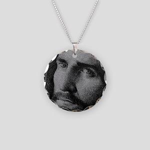 jesus1 Necklace Circle Charm