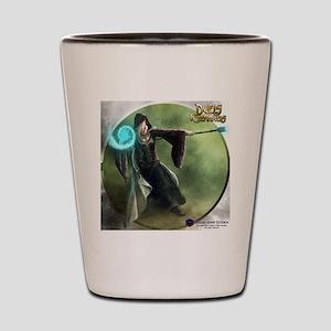 Human Wizard Female - Shirt Shot Glass