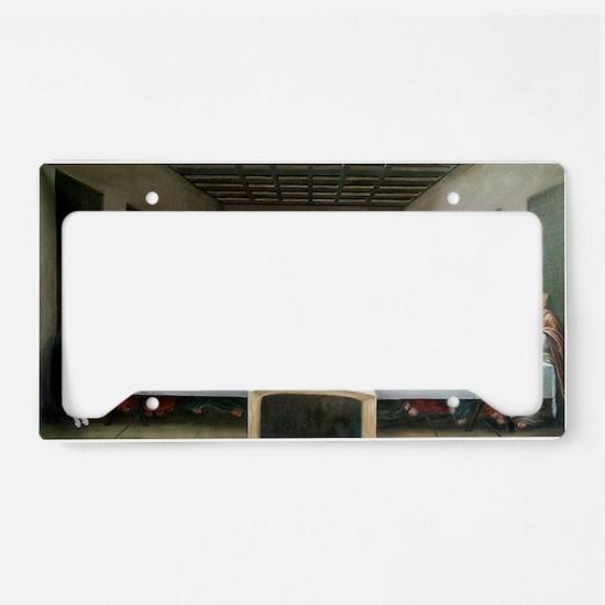 LastPupperCafepress License Plate Holder